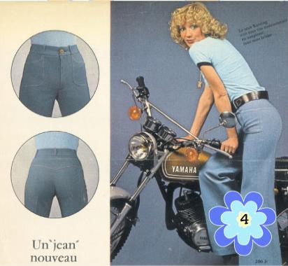 Jean sans coutures