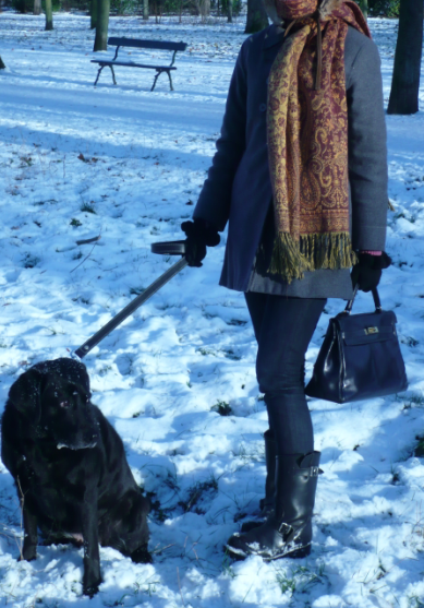 Kelly à la neige